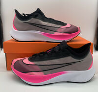 Nike Zoom Fly 3 Pink Blast Running Shoes AT8240 600 Mens Size