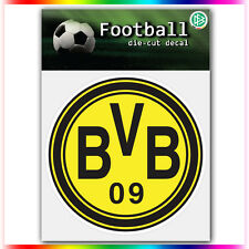 "Borussia Dortmund UEFA Die Cut Vinyl Sticker Car Bumper Window 4""x4"""