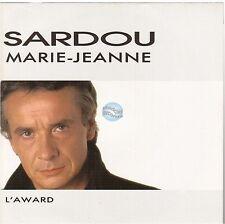 "MICHEL SARDOU marie jeanne / l'award 45T 7""  promo stamp"