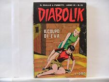 ## DIABOLIK Anno IX Nove n. 15 del 1970 Originale Buono