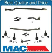 1999-2002 F450 F550 Super Duty Drag Link & Tie Rod Rods Sleeves Ball Joints 10Pc