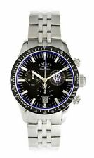 Rotary GB90048/04 Special Edition Chelsea FC Black Stainless Steel Mens Watch