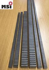 Zahnstange Zahnstangen 4,5€-70€/m Modul m 1 1,5 2 2,5 3 4  L 1000 o. 500mm C45
