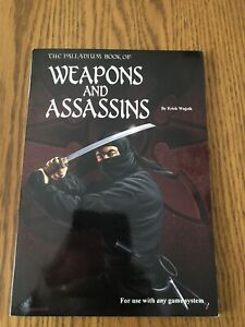 THE PALLADIUM BOOK OF WEAPONS AND ASSASSINS 2002