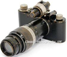 1930 Leica I Model C LENEU + 13.5cm Viewfinder Mask + Elmar 1:4.5 13.5cm + VIDOM