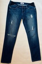 Paige Maternity Womens Jimmy Jimmy Skinny Blue Medium  Denim Jeans sz 26