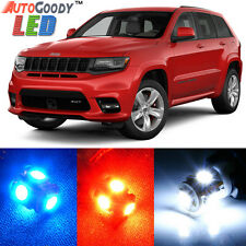 15 x Premium Xenon White LED Lights Interior Package Upgrade Jeep Grand Cherokee