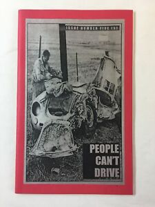 1990s zine ~ PEOPLE CAN'T DRIVE #5