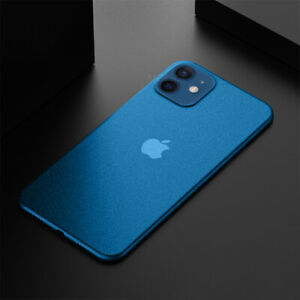 For iPhone 13 12 Pro Max 11 XS 8 0.2mm Ultra-thin Matte Hard Slim PP Case Cover