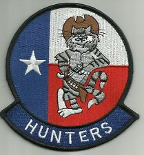 NAVY VF-201 AVIATION FIGHTER SQUADRON TWO ZERO ONE MILITARY PATCH HUNTERS