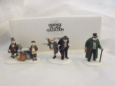 "Dept. 56 ""Oliver Twist"" Acces., Set of 3, 5554-9, Issued 1991, Ret 1993, w/box"