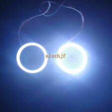 60mm Outside Diameter 2pcs LED Angel Eyes Rings COB Lens Q5 Hella With Dimmer