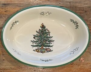 NEW Spode Christmas Tree Casserole Dish… Serving Bowl🎄Imperial Cookware England