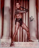 Kirk Douglas 20x25cm u.a. Spartacus original signiert signed RAR TOP GF 801 UH