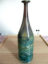 MDINA GLASS EARLY 1970S ATTENUATED BOTTLE