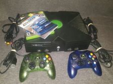 ORIGINAL XBOX 2 COLORED controllers & Froza MotorSports (TESTED & WORKING)