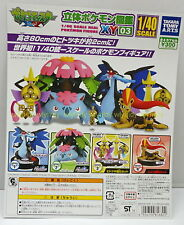 1/40 Real Pokemon Figure XY 03 Complete 4pcs - Takara Tomy ARTS  h#2