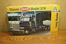 ITALERI CLASSIC PETERBILT MODEL 378 LONG HAULER 1/24 SCALE MODEL KIT