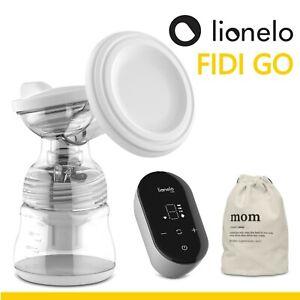 FIDI GO elektrische Milchpumpe Zweiphasen tragbar 9 Saugstufen 5 Massagestufen