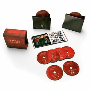 Eagles Legacy Collection 12 CD+1 DVD+1 Blu-ray Booklet BOX SET NEW SEALED