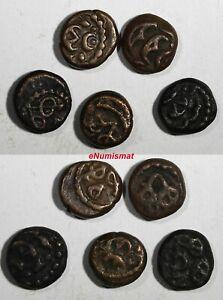 India - Dutch PULICAT Copper cash Coin struck 1646 KM# 35 RANDOM PICK (1 COIN)