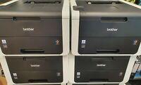 4x Brother HL-3152CDW Drucker ohne Trommel Toner Transfer. Resttoner Ersatzteile