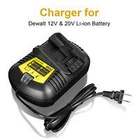 For Dewalt DCB101 DCB115 DCB200 DCB105 12V & 20V Max Li-ion Battery Charger