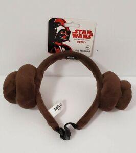 Star Wars Princess Leia Headband Dog Pet Costume M/L New with Tags