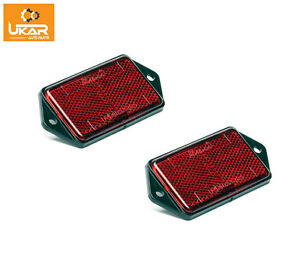 Land Rover Defender 90   Pair of Rear Reflectors Red Part XFF100070