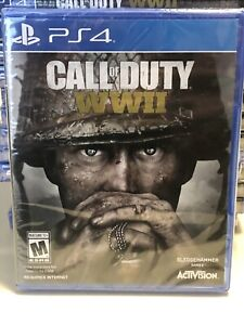 Call of Duty WWII PS4 PlayStation 4 Brand New Factory Sealed COD World War 2