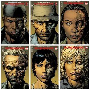 Walking Dead Deluxe 7 8 9 10 11 12 2nd Print Variant Set Options Presale 6/30