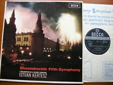 SXL 6018 SHOSTAKOVICH: SYMPHONY No. 5    KERTESZ / SUISSE ROMANDE    ED1   NM