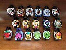 Kamen Rider Gaim SG/GP Lockseed Set. Led Ryuki, Legend Rider Lock Seeds, Bonuses