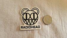 Black and White Radio Head Sticker Decal