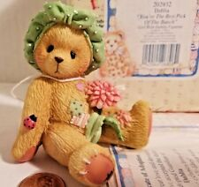 """Cherished Teddies Enesco """"You'Re The Best Pick Of The Bunch"""" 1996 Nib 202932"""