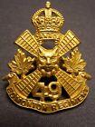 EDMONTON REGIMENT PRE WW II CAP BADGE 1931 M.151 49th CANADA CANADIAN LOYAL