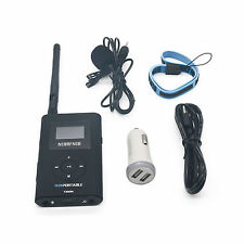 0.3W Portable FM Transmitter Radio Broadcast for Tourism Church Meeting T300M