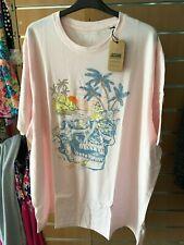 JACAMO Mens SKULL  T- Shirt     LONG  2xl   bnip