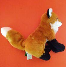 Little Plush Sitting Red Fox