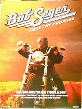 BOB SEGER Face The Promise 2006 rare promo POSTER Harley-Davidson - 15 x 20 inch