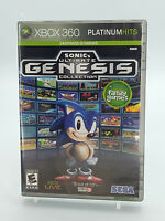 Sonic's Ultimate Genesis Collection Xbox 360 Game W/Manual Tested Free Shipping