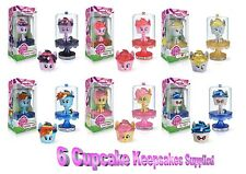 My Little Pony Cupcake Keepsakes - 6 Pack Assortiment