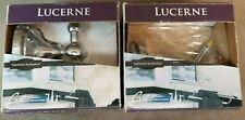"Gatco Lucerne ""Smooth Elegance"" Chrome Robe Towel Hook LOT OF 2 LS20-35"