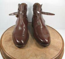 Montecarlo Jodhpur Russet Brown Leather Boots size 10 E
