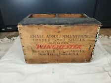 Vintage Winchester Wood Ammo Box