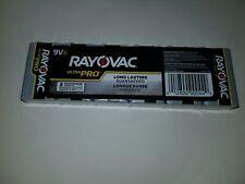 AL9V-6 Ultra Pro Alkaline 9V Batteries Rayovac 9 Volt  6 pack