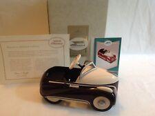 Hallmark Kiddie Car Classic 1939 Steelcraft Lincoln Zephyr by Murray w/Card New