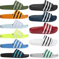 Adidas Originals Hombre Adilette Zapatillas Baño Sandalias de Badeslider
