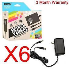 6 LOT NEW NES SNES Super Nintendo AC Power Adapters NEW
