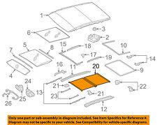 MERCEDES OEM 16-18 GLE350 Sunroof Sun Roof-Sunshade Shade Cover 16678020009F67